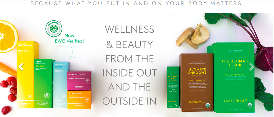 Live Ultimate _ Wellness and beauty from inside out