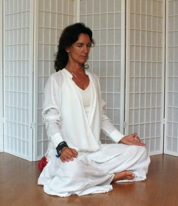 Mindful yoga practice for connectedness
